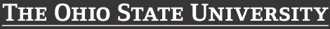 2013 Ohio State wordmark