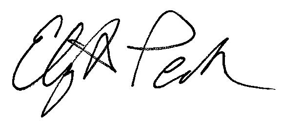 E Peck Sign