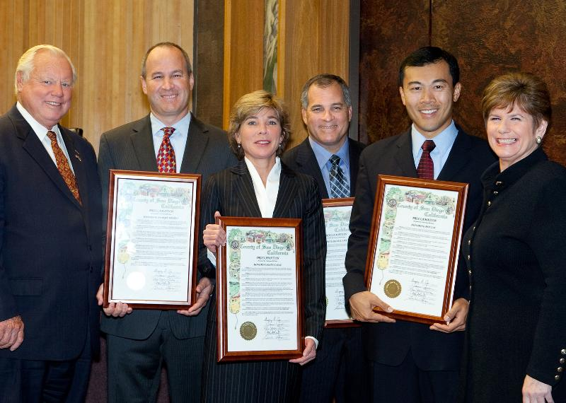 DDAs Honored by Supervisor