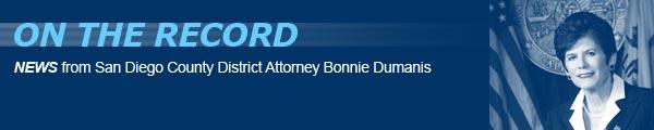 San Diego District Attorney banner
