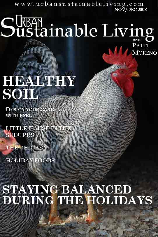 November Urban Sustainable Living Cover