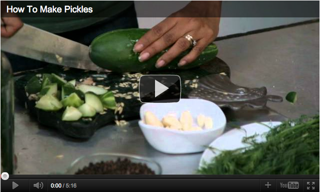 How to Make Pickles Video