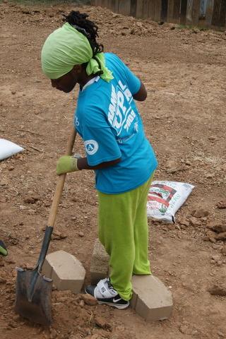 ShreveCorps volunteer starts work