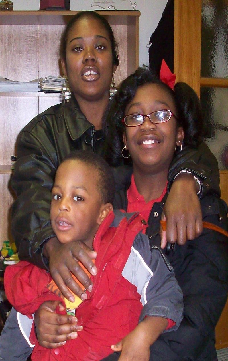 Shamell and family