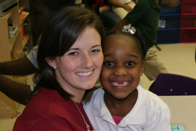 Bossier volunteer and LightHouse student
