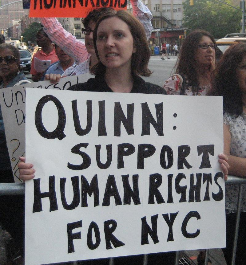 Christine Quinn received D+ on Human Rights Report Card