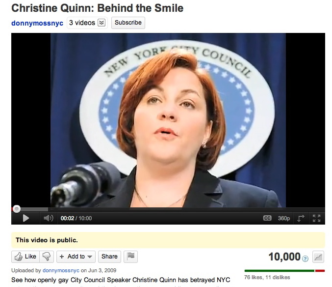 Christine Quinn: Behind the Smile