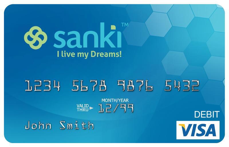 get your sanki global prepaid visa debit card - Visa Debit Card