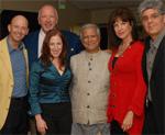 Muhhammed Yunus and HUB members