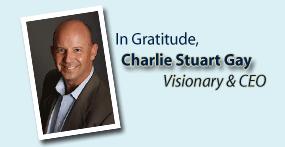 In gratitude, Charlie Stuart Gay