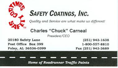 Safety Coatings