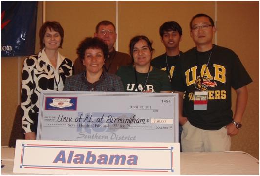 UAB 2011 SDITE Traffic Bowl Team