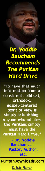 Dr. Voddie Baucham Reviews and Recommends the SWRB Puritan Hard Drive.