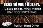 Greatly Expand Your Library With the Puritan Hard Dirve