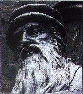 John Knox B&W Graphic