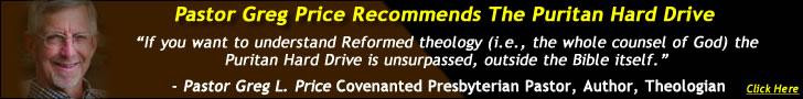 Pastor Greg Price (RPNA) Recommends SWRB's Puritan Hard Drive - Covenanter