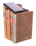 Puritan Hard Drive On Top Of Books (Small Graphic)