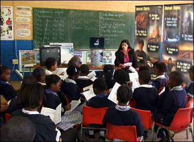 Teaching Human Rights in South Africa