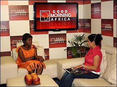 YHRI on 'Good Morning Africa'