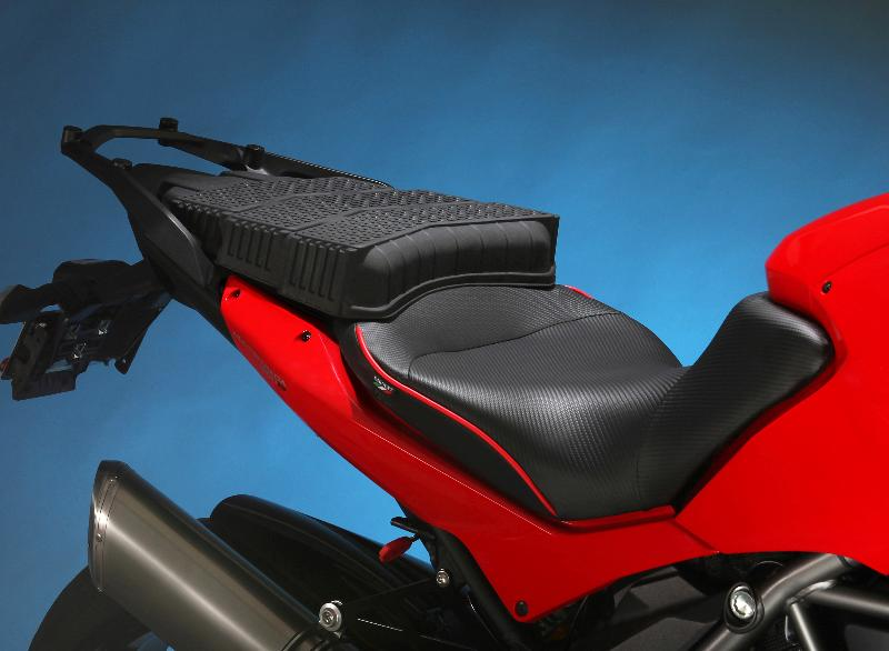 Sargent Multistrada Seat with Rack.Blue