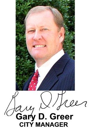 City Manager Gary D. Greer - Backyard