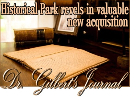 Dr Gilberts Journal now at home in Farmers Branch