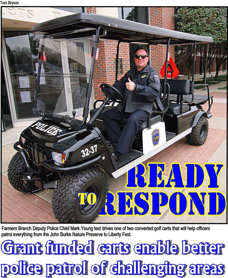 Police off-road vehicles bring new versatility to patrol