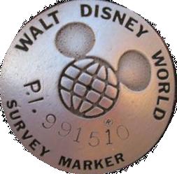 Walt Disney World Survey Marker
