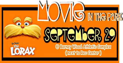 MOVIE IN THE PARK presents Dr. Seuss' The Lorax