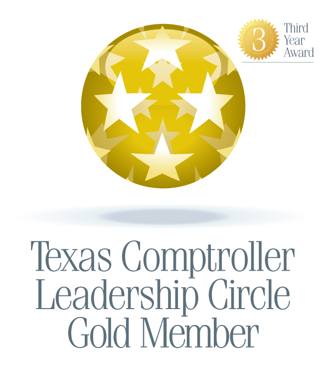 Texas Comptroller's Office Gold Circle Award
