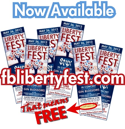 Liberty Fest concert tickets now available