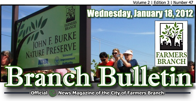 BRANCH BULLETIN: E-News Magazine from Farmers Branch