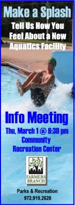 2012 Aquatics Meeting coming March 1