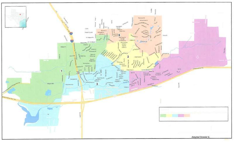 DRAFT single member district map