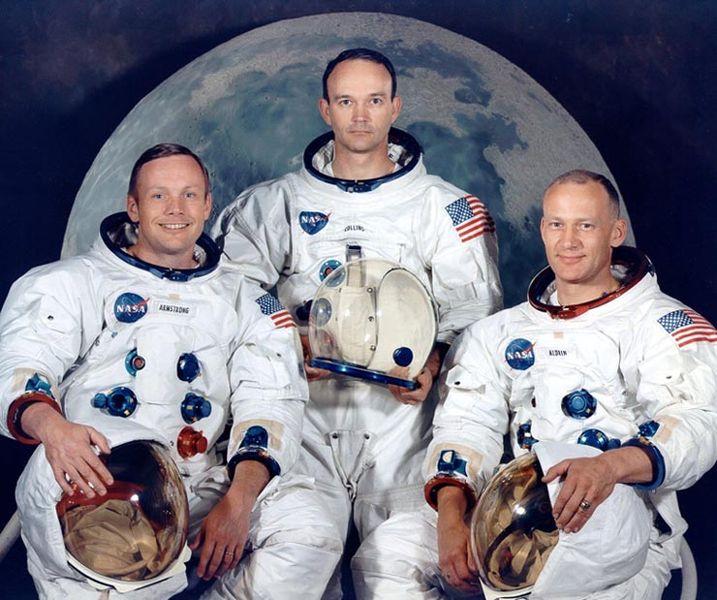The intrepid explorers of Apollo 11.