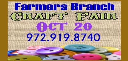 Holiday Craft Fair coming October 20
