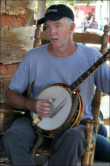 Bloomin Bluegrass banjo