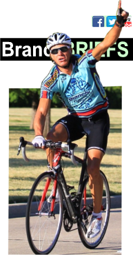 Biker with social