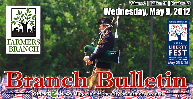 BRANCH BULLETIN: E-News Magazine from the City of Farmers Branch