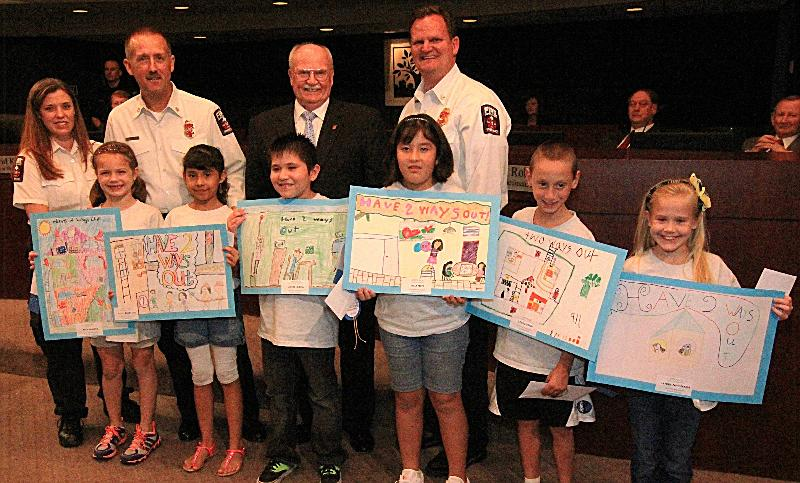 Fire Prevention Month Poster Contest Winners