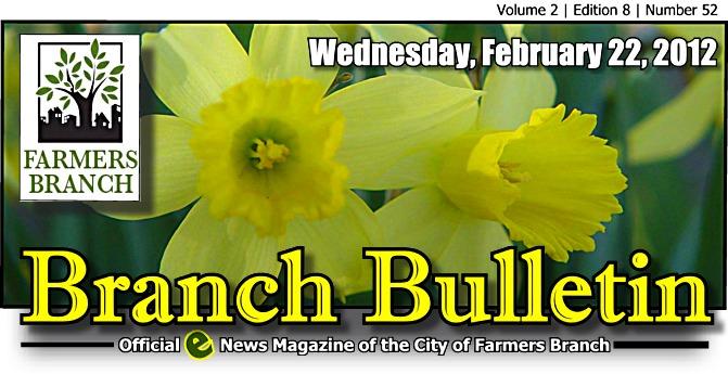 BRANCH BULLETIN: E-News Magazine from Farmers Branch