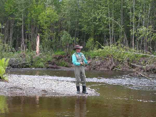 Charlier Ricker Fly Fishing for Kings