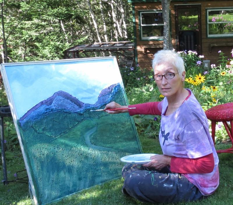 Susan Walsh painting