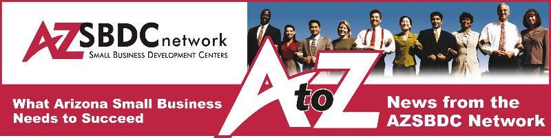 AZSBDC PR banner