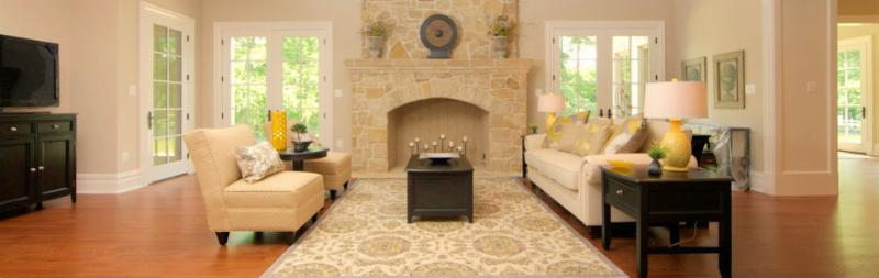 Family Room staged by Staged Interior