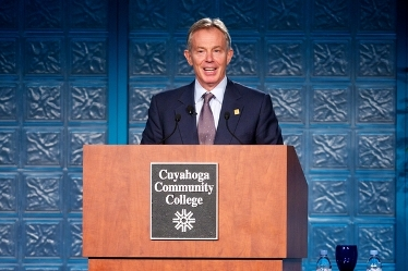 Tony Blair at Tri-C