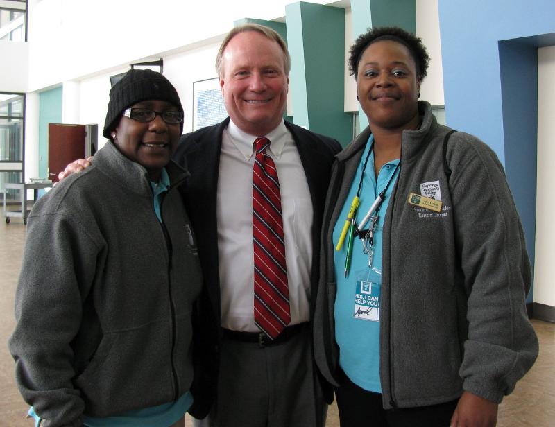 Congressman Joyce with students
