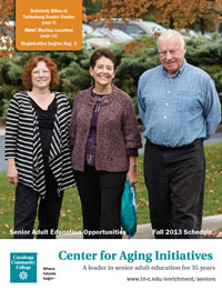 Senior Adult Education Brochure Cover