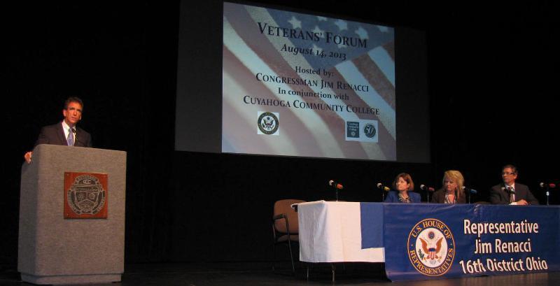 Congressman Renacci and VA Panel