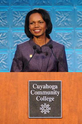 Dr. Condoleeza Rice